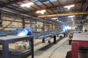 Metal building fabrication