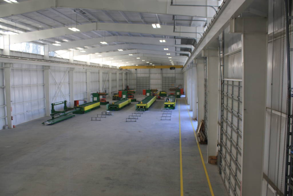 Custom Metal Warehouses Prefabricated Industrial Steel