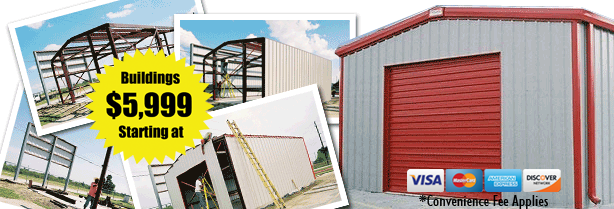 Metal building kits price your steel building kit online for Metal house kits for sale