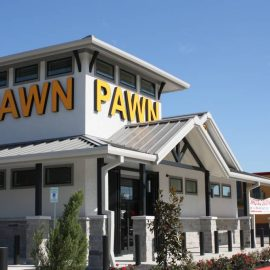 Beltway Pawn Metal Building in Houston, TX